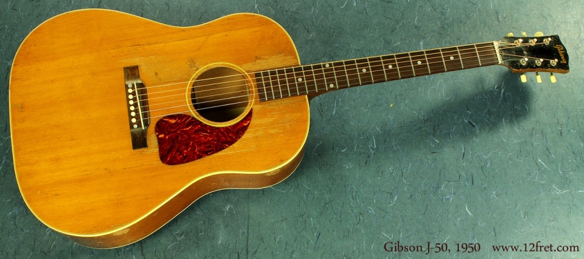 Gibson J-50 1950 full front view