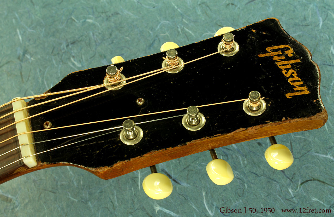 Gibson J-50 1950 head front