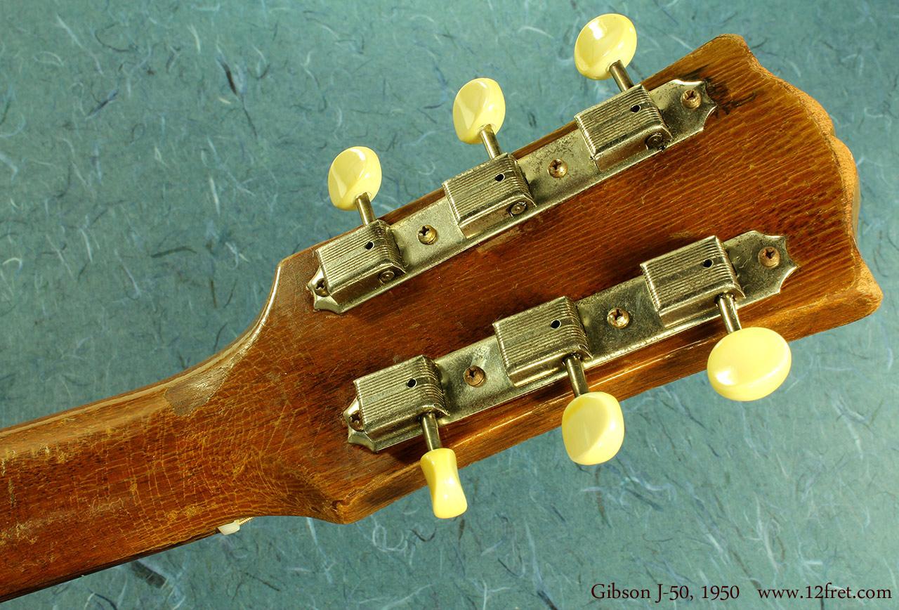 Gibson J-50 1950 head rear
