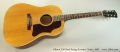 Gibson J-50 Steel String Acoustic Guitar, 1967 Full Front View