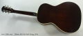 Gibson Keb Mo Steel String, 2014 Full Rear VIew