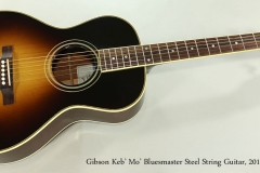 Gibson Keb' Mo' Bluesmaster Steel String Guitar, 2011 Full Front VIew