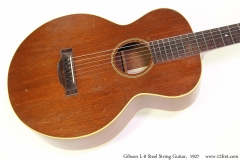 Gibson L-0 Steel String Guitar,  1927 Top View