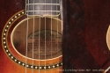 1927 Gibson L-4 Archtop Guitar label and soundhole ring