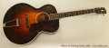 Gibson L4 Archtop Guitar, 1930 Full Front View
