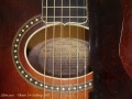 Gibson L-4 Archtop Guitar 1927 label