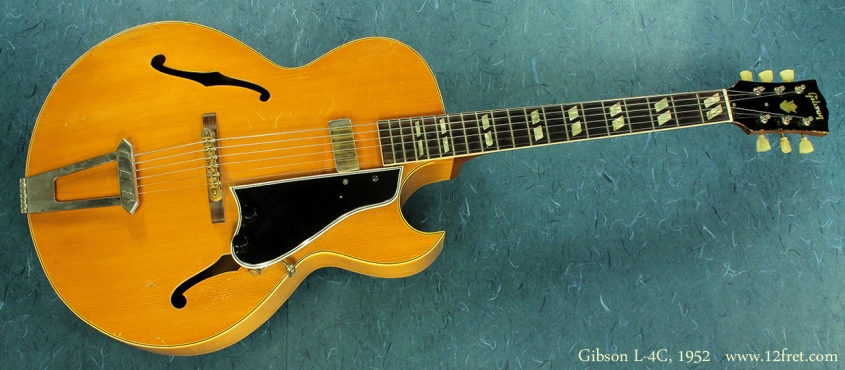 Gibson L-4C, 1952 full view
