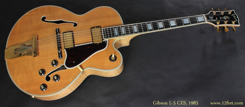 Gibson L5 CES 1983 full front view