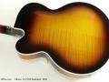 Gibson L5 CES Sunburst 2006 back
