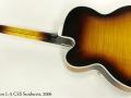 Gibson L5 CES Sunburst 2006 full rear view