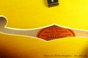 Gibson L-5 CES Wes Montgomery label