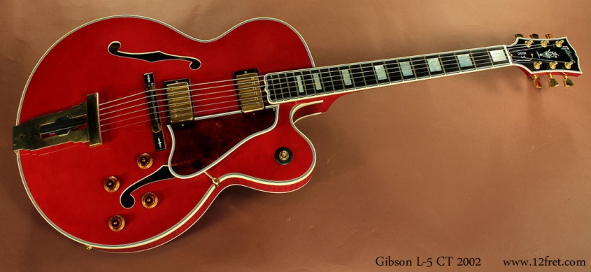 Gibson L-5 CT, 2002 full front view