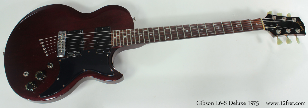 Gibson L6-S Deluxe 1975 full front view