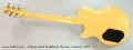 Gibson L6-S Solidbody Electric, Natural, 1976 Full Rear View