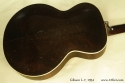 Gibson L-7 Archtop, 1934 back