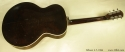 Gibson L-7 Archtop, 1934 full rear view