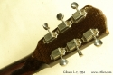 Gibson L-7 Archtop, 1934 head rear