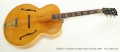 Gibson L-7 Acoustic Archtop Guitar Natural, 1939 Full Front View