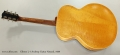 Gibson L-7 Archtop Guitar Natural, 1939 Full Rear View