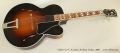 Gibson L7-C Acoustic Archtop Guitar, 2006 Full Front View