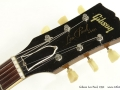 Gibson Les Paul Gold Top 1952 head front