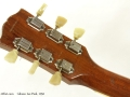 Gibson Les Paul Gold Top 1952 head rear