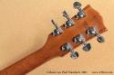Gibson Les Paul Standard 2001 head rear