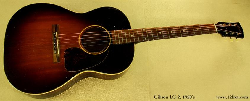 Gibson LG-2 1950's full front