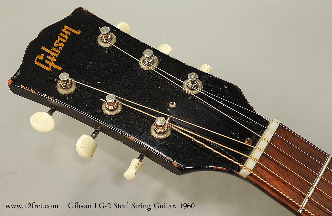 1960 gibson lg 2 steel string guitar. Black Bedroom Furniture Sets. Home Design Ideas