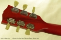 Gibson Les Paul 50s Tribute Cherry Burst 2011 head rear