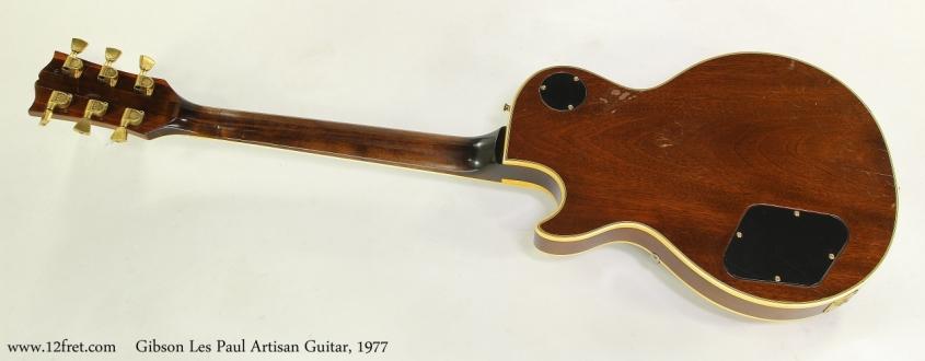 Gibson Les Paul Artisan Guitar, 1977 Full Rear View