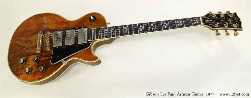 Gibson Les Paul Artisan Guitar, 1977 Full Front View