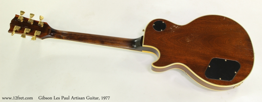 Gibson Les Paul Artisan Guitar, 1977 Full Rear View