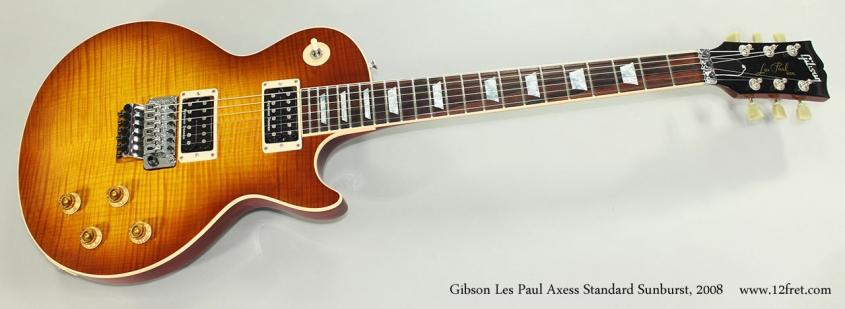 Gibson Les Paul Axess Standard Sunburst, 2008 Full Front View