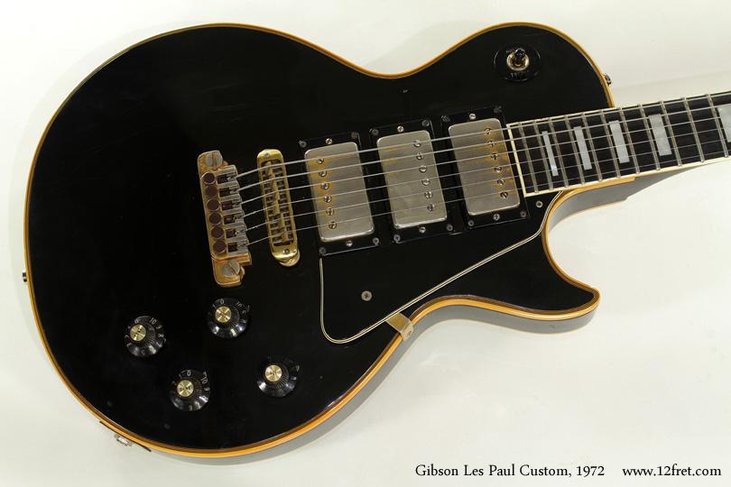 Gibson Les Paul Custom 1972 top