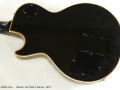 Gibson Les Paul Custom 1972 back