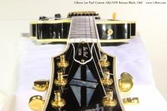 Gibson Les Paul Custom 1954 VOS Reissue Black, 1992   Head to Body View
