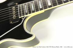 Gibson Les Paul Custom 1954 VOS Reissue Black, 1992   Heel View