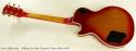 Gibson Les Paul Custom Cherry Burst 1977 full rear view