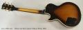 Gibson Les Paul Custom Tobacco Burst, 1978 Full Rear View