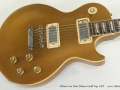 Gibson Les Paul Deluxe Gold Top 1972 top