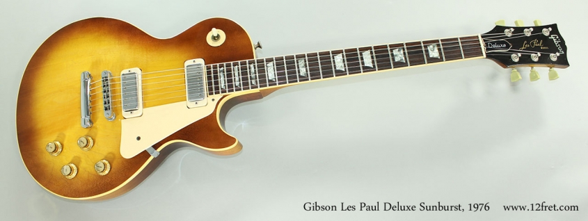 Gibson Les Paul Deluxe Sunburst, 1976  Full Front View