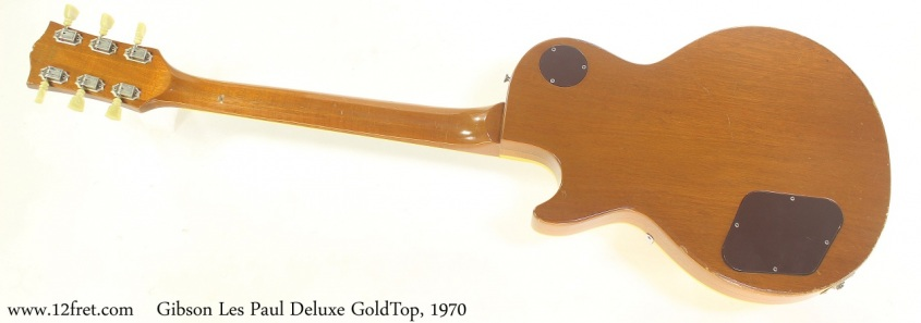 Gibson Les Paul Deluxe GoldTop, 1970 Full Rear View