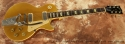 Gibson Les Paul Deluxe Gold Top with Bigsby 1978 full front view
