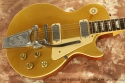 Gibson Les Paul Deluxe Gold Top with Bigsby 1978 top