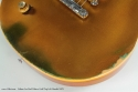 Gibson Les Paul Deluxe Gold Top Left Hand 1972 finish detail 1