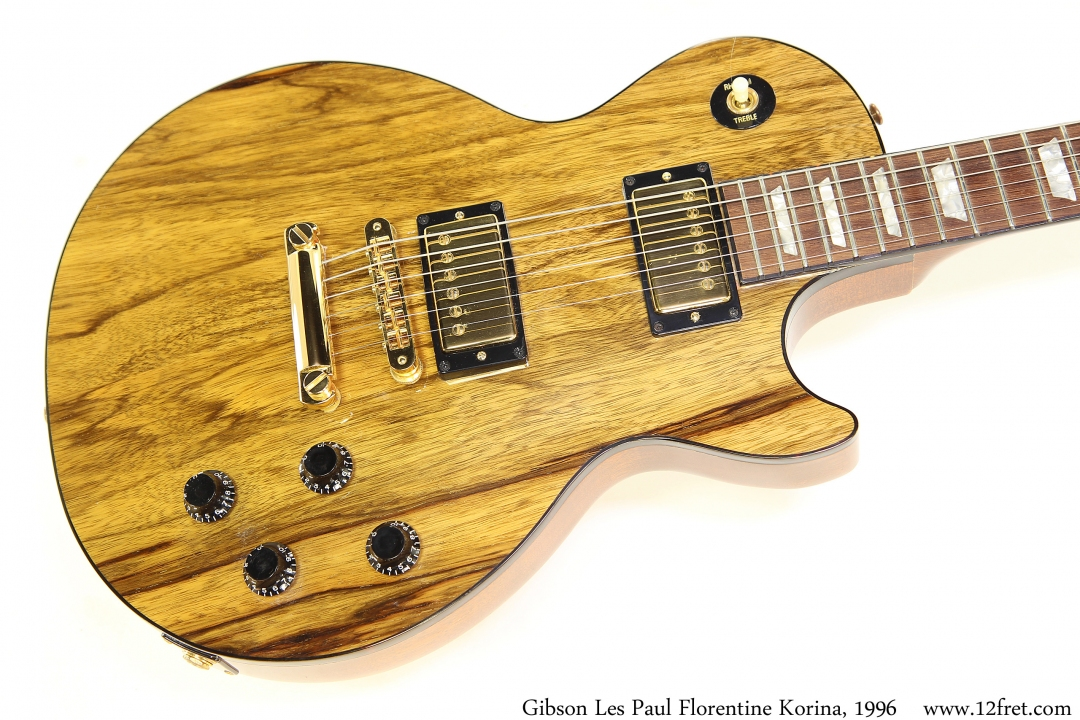 Gibson Les Paul Florentine Korina, 1996 Top View