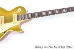 Gibson Les Paul GoldTop P90s, 1968 Full Front View