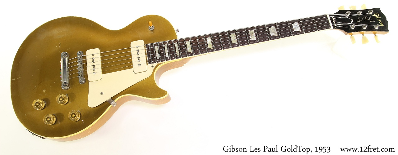Gibson Les Paul GoldTop, 1953 Full Front View