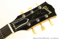 Gibson Les Paul GoldTop, 1953 Head Front View